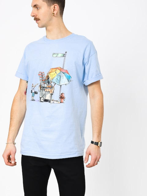 DGK Vendor T-shirt (powder blue)
