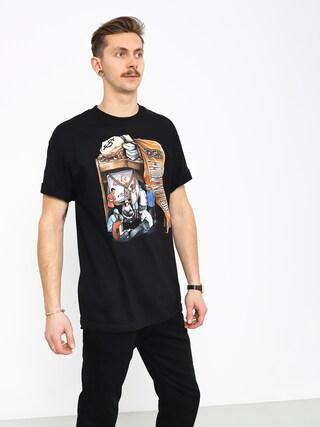 DGK Hard Knocks T-shirt (black)