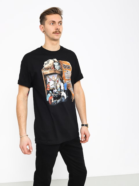 DGK Hard Knocks T-shirt (black)