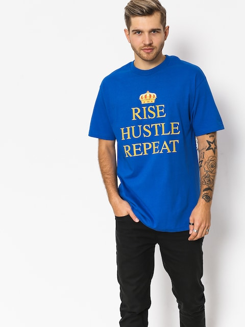 DGK T-shirt Rise (royal blue)