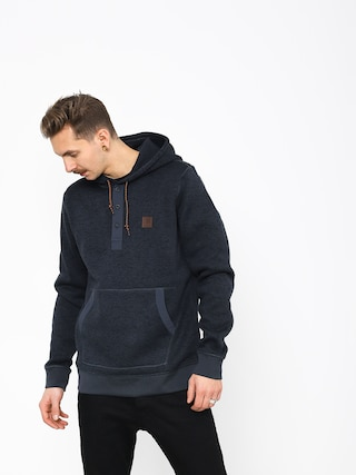 Element Highland Henley Hoodie (india ink ht)