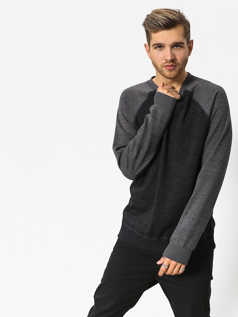 Element Sweatshirt Meridian Block Crew (flint black)