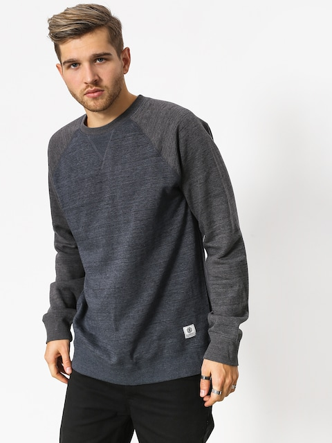 Element Sweatshirt Meridian Block Crew (india ink)