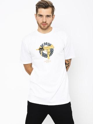 MassDnm Golden Uzi T-shirt (white)