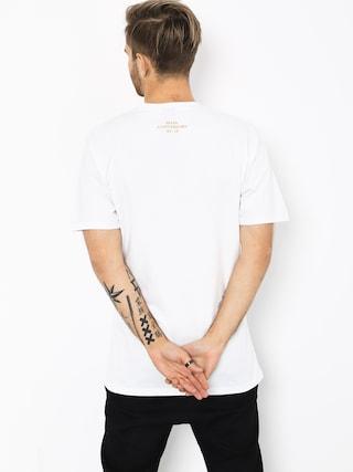 MassDnm Golden Car T-shirt (white)