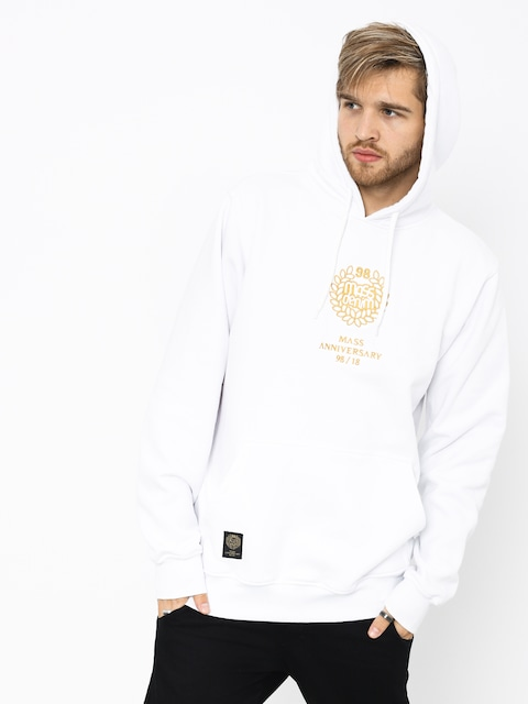 MassDnm Golden Crown HD Hoodie (white)