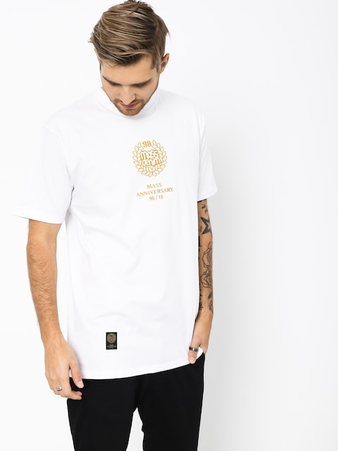 MassDnm Golden Crown T-shirt (white)