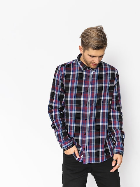 Element Shirt Buffalo Ls (flint black)