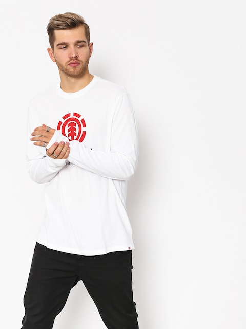 Element Vertical Longsleeve (optic white)