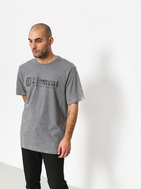 Element Bark Horizontal T-shirt (grey heather)