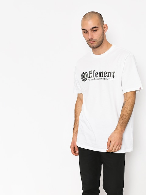 Element Bark Horizontal T-shirt (optic white)