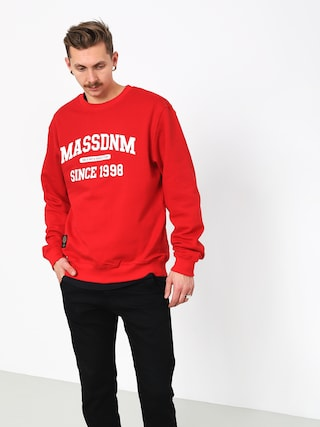 MassDnm Campus Sweatshirt (red)