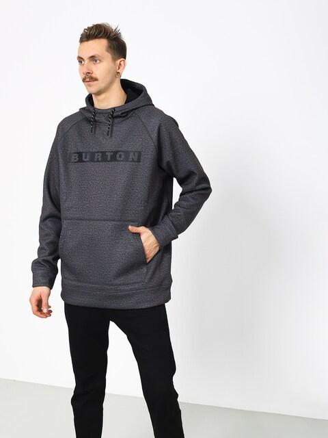 Burton Crown Bndd HD Active sweatshirt (true black heather)