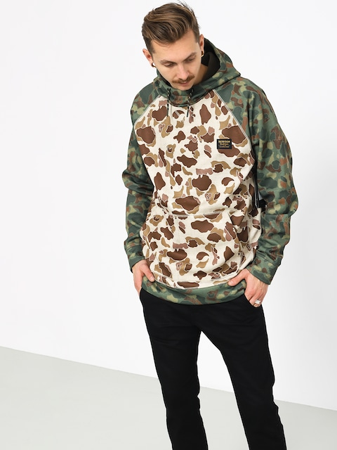 Burton Crown Bndd HD Active sweatshirt (deduck/frstdk)