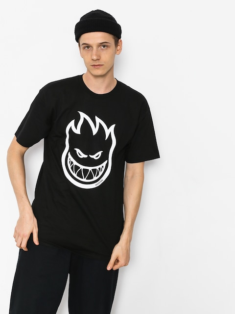 Spitfire Big Head T-shirt (black/whtie)