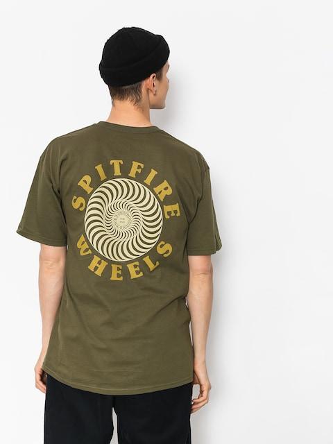 Spitfire Og Classic T-shirt (military green/tan)