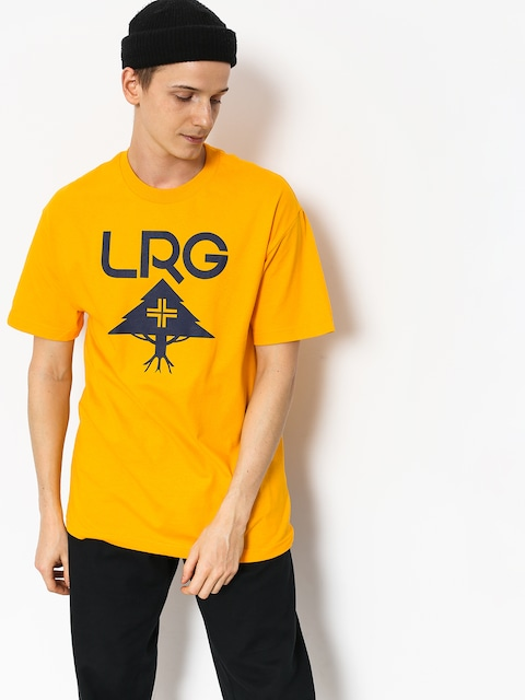 LRG Classic Stack T-shirt (gold)