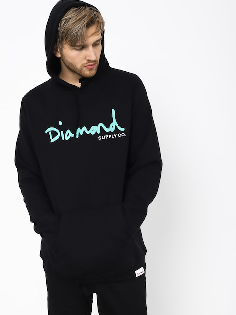 Diamond Supply Co. Og Script HD Hoodie (black)
