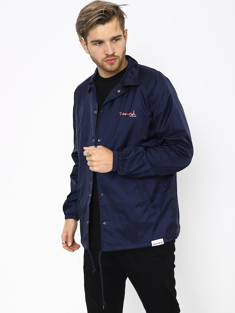 Diamond Supply Co. Og Script Coach Jacket (navy)