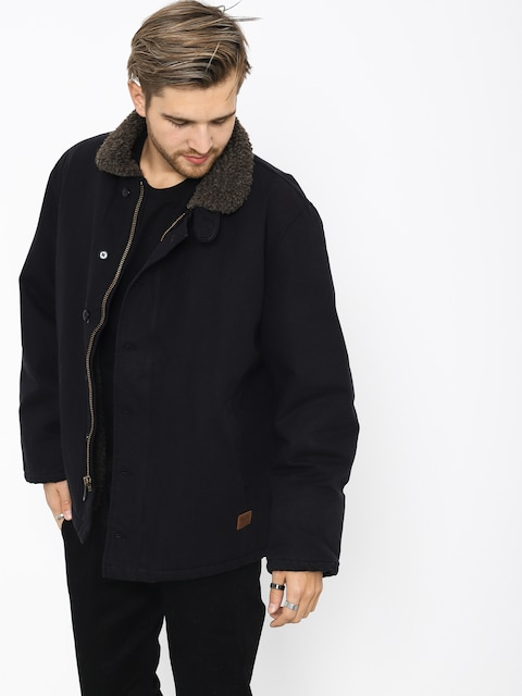Brixton Mast Jacket (black/brown)