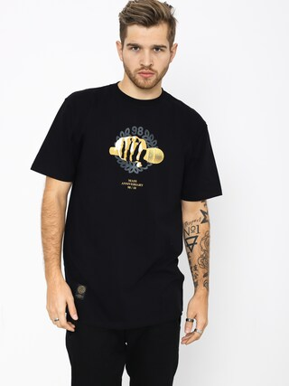 MassDnm Golden Mic T-shirt (black)