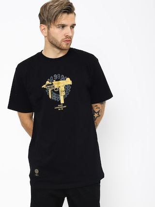 MassDnm Golden Uzi T-shirt (black)