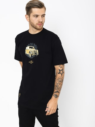 MassDnm Golden Car T-shirt (black)