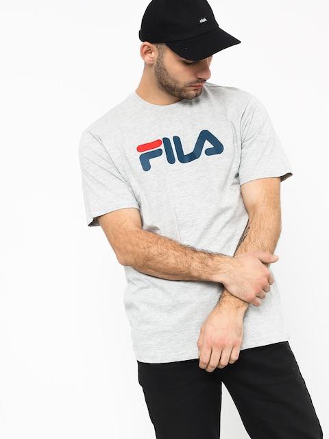 Fila Pure Short Sleeve Shirt T-shirt (light grey mel bros)