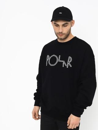 Polar Skate Script Sweatshirt (black)