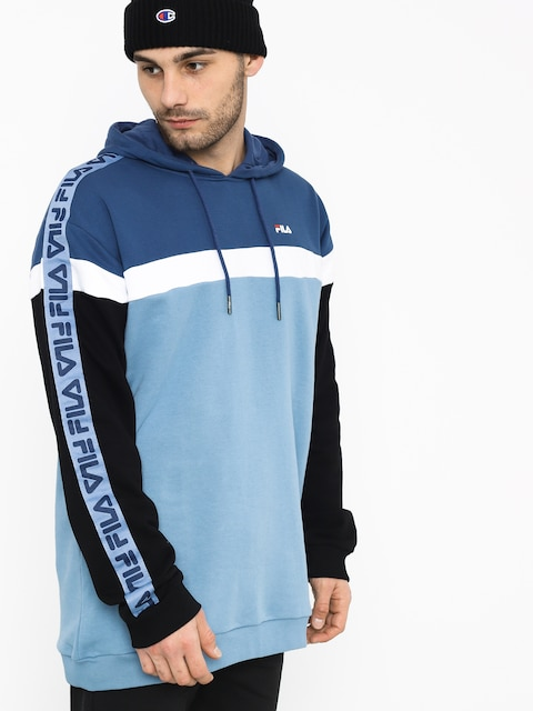 Fila Robben Tape HD Hoodie (blue shadow/english blue/black)