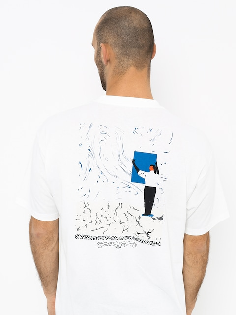 Polar Skate Hanging A Painting T-shirt (white)