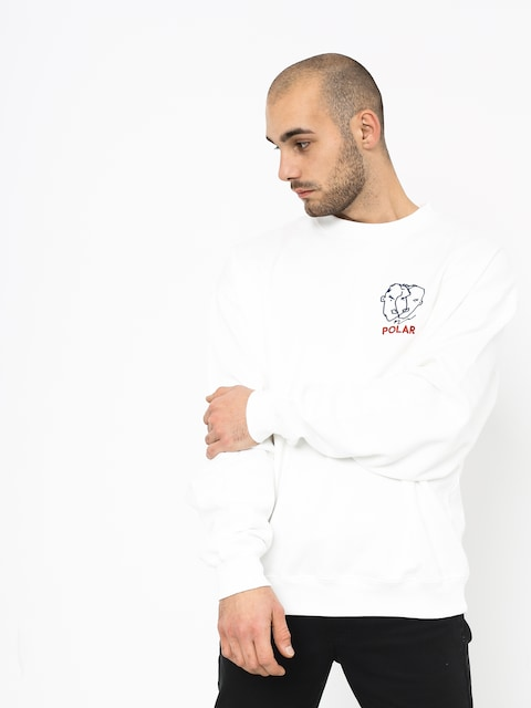 Polar Skate Two Sided Sweatshirt (white)