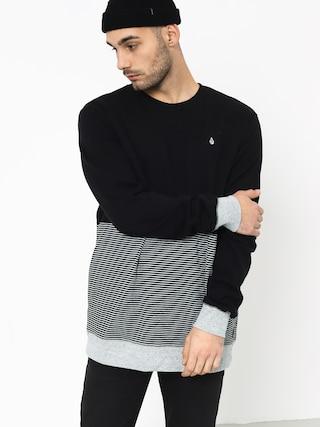 Volcom Threezy Crew Sweatshirt (blk)