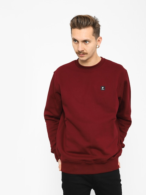 Nervous Icon Sweatshirt (maroon)