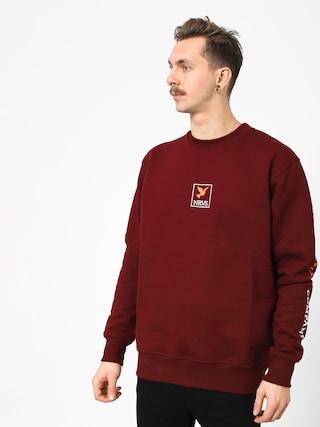 Nervous Frame Sweatshirt (maroon)