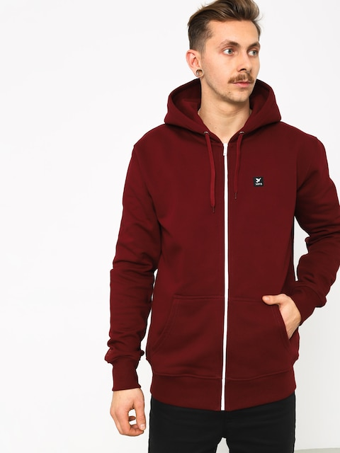 Nervous Icon ZHD Hoodie (maroon)