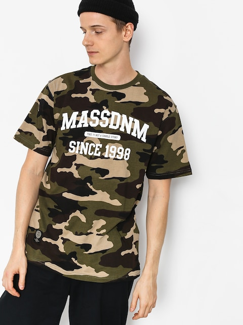 MassDnm Campus T-shirt (woodland camo)