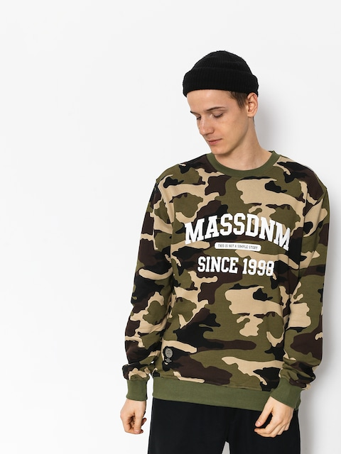 MassDnm Campus Sweatshirt (woodland camo)