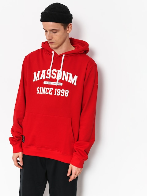 MassDnm Campus HD Hoodie (red)