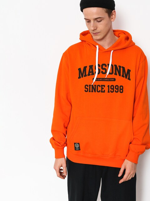 MassDnm Campus HD Hoodie (orange)