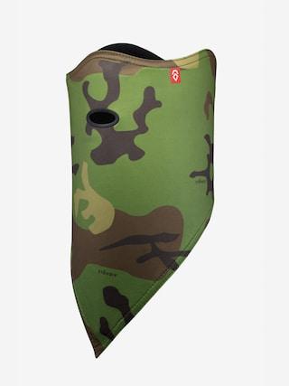 Airhole Facemask Standard Bandana (woodland camo)