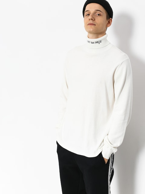 RipNDip Mbn Turtleneck Sweatshirt (white)