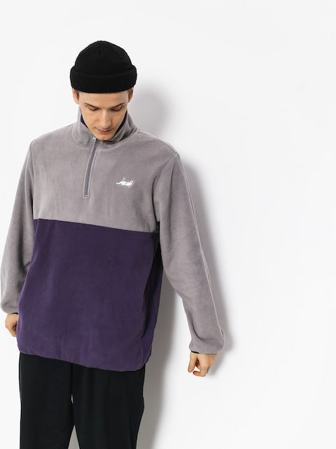 RipNDip Castanza Half Zip Fleece (grey)