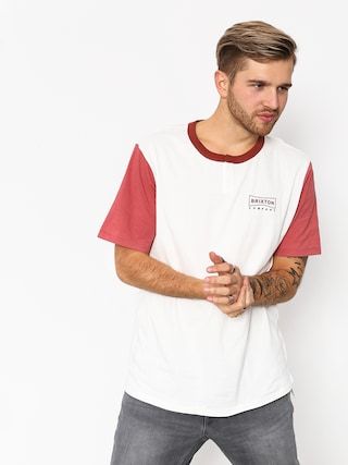 Brixton Wedge Hnly T-shirt (off white/rust)