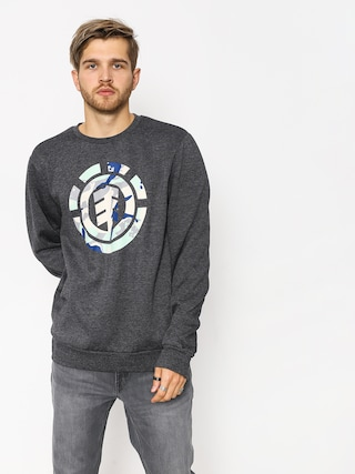 Element Spirit Camo Crew Sweatshirt (charcoal heather)