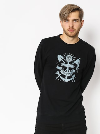 Element Pioneers Crew Sweatshirt (flint black)