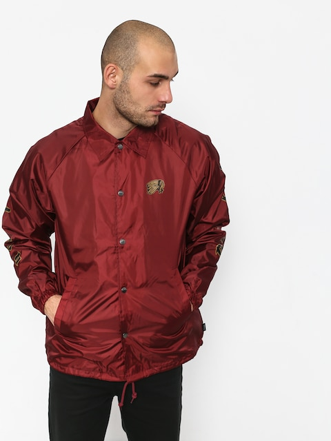 Brixton Primo Jacket (burgundy/black)