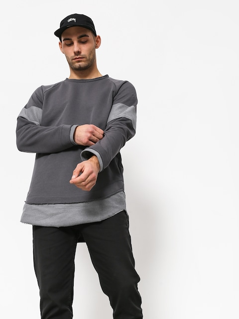 Majesty Crow Sweatshirt (grey)