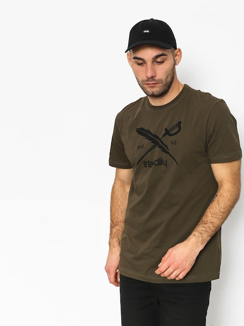 Iriedaily Daily Flag T-shirt (olive)