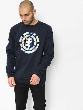 Element Spirit Camo Crew Sweatshirt (eclipse navy)